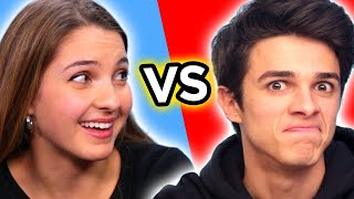 Brent Rivera VS Lexi Rivera | Ultimate BROTHER VS SISTER CHALLENGE Compilation!