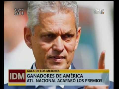 Atlético Nacional se lleva todos los premios