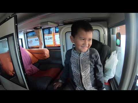 Nyobain Sleeper Seat Bus Harapan Jaya Double Decker Super Luxury Class