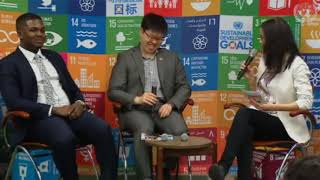Climate Action - what are young people doing? SDG Media Zone - ECOSOC Youth Forum 2018