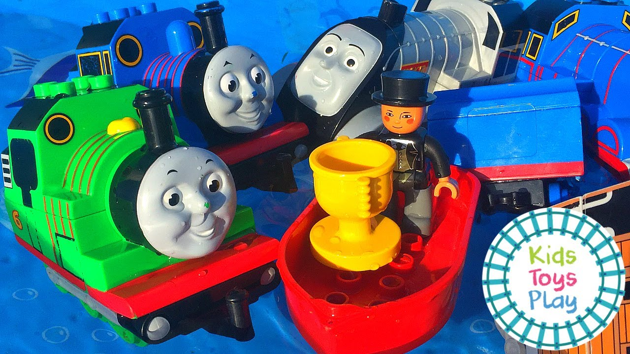 Thomas and Friends Duplo Train Mystery Wheel Races
