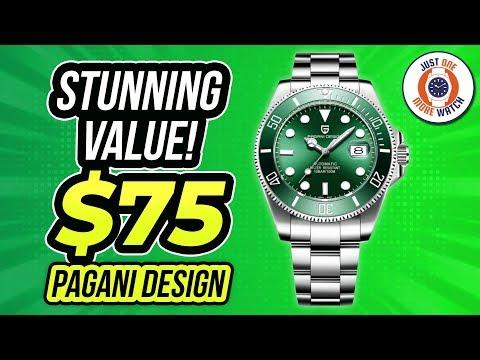Stunning Value! $75 Pagani Design 'Submariner'