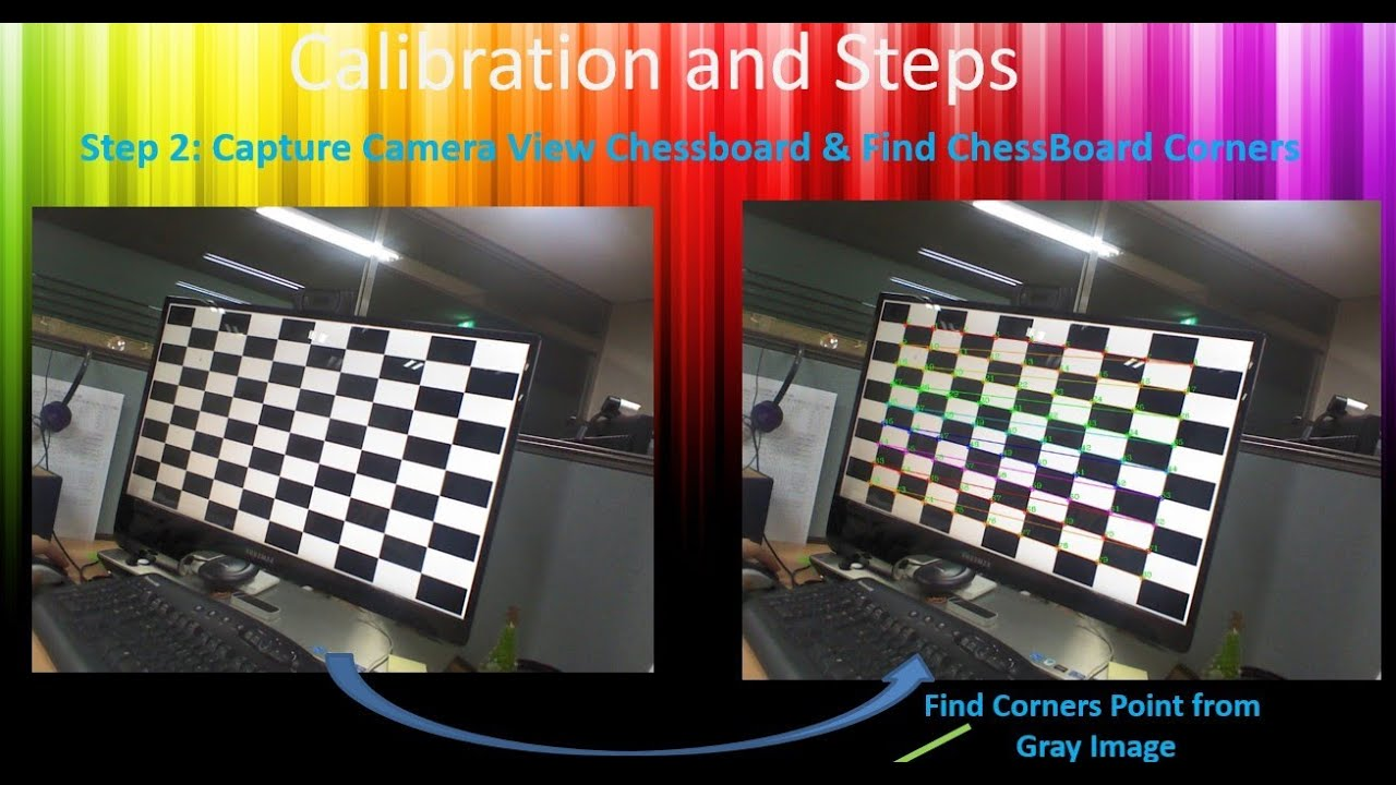 Calibration using OpenCv C++ or EmguCv C#