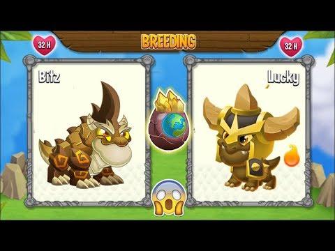 NEW BREEDING: Double Terra Dragon & Bjorn Dragon | DRAGON CITY 😍