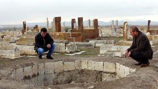 Gambar cover Erciş'te Selçuklu Mezarlığı definecilerin hedefi