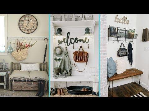 ❤ DIY Rustic Shabby Chic Style Mudroom decor ideas ❤ | Home decor & Interior design | Flamingo Mango