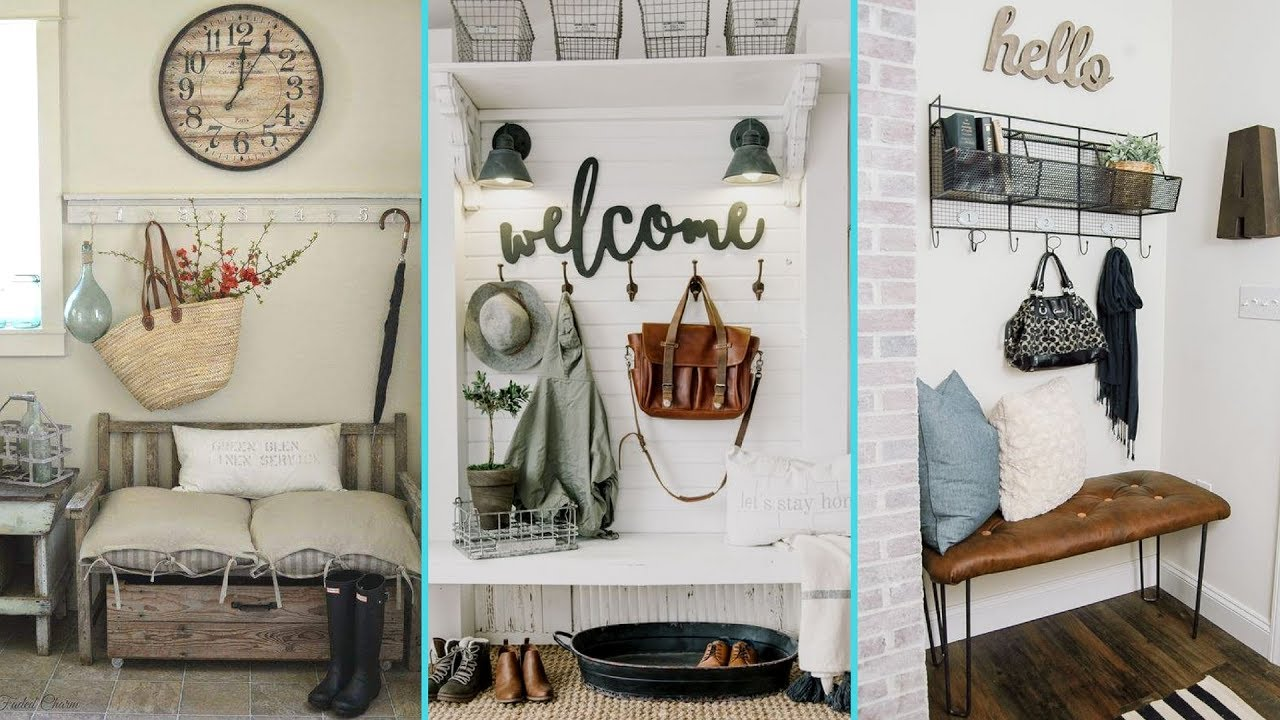 ❤ DIY Rustic Shabby Chic Style Mudroom decor ideas ❤ | Home decor ...