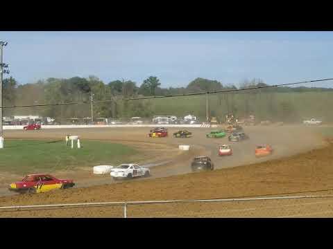 Brownstown Speedway Funfest hornet heat 1 10-13-18