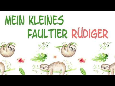 Mein kleines Faultier Rüdiger - Andrea Jung und die Hasenkinder