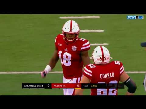 2017 - Arkansas State at Nebraska