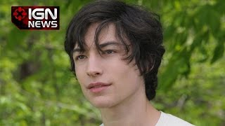ezra miller explains how he became the flash ign news