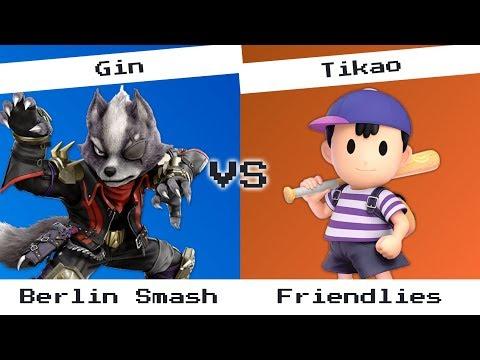 Gin (Wolf) vs Tikao (Ness) [2] - Berlin Smash, friendlies