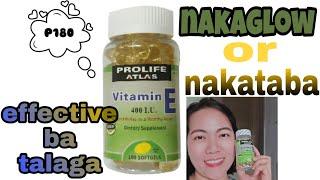 Prolife atlas vitamin E | review