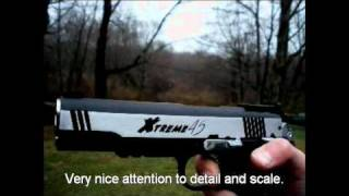 G&g 45 Extreme C02 Blowback Airsoft Pistol Review And Shooting Test