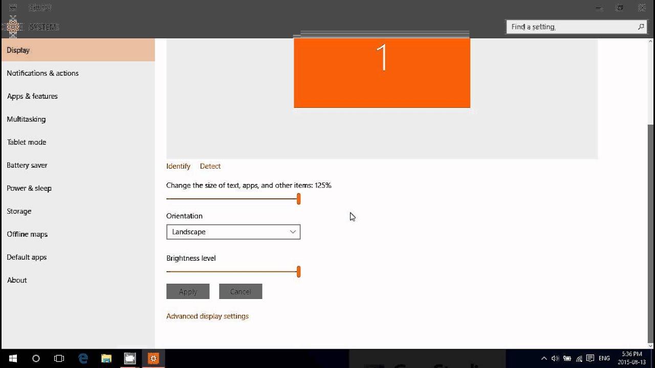 icon text size windows 10