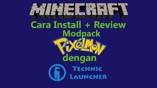 modpack Pixelmon di minecraft (Review + Cara Install)(technic launcher)(B.Indo)   dece441 Gaming