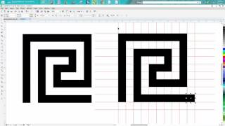 Corel Draw Tips & Tricks Greek Pattern Square one