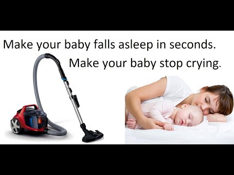 Vacuum cleaner sound, white noise sound for your babies to go sleep in seconds.
