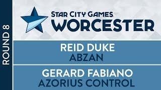 SCGWOR: Round 8 - Reid Duke vs Gerard Fabiano [Modern]