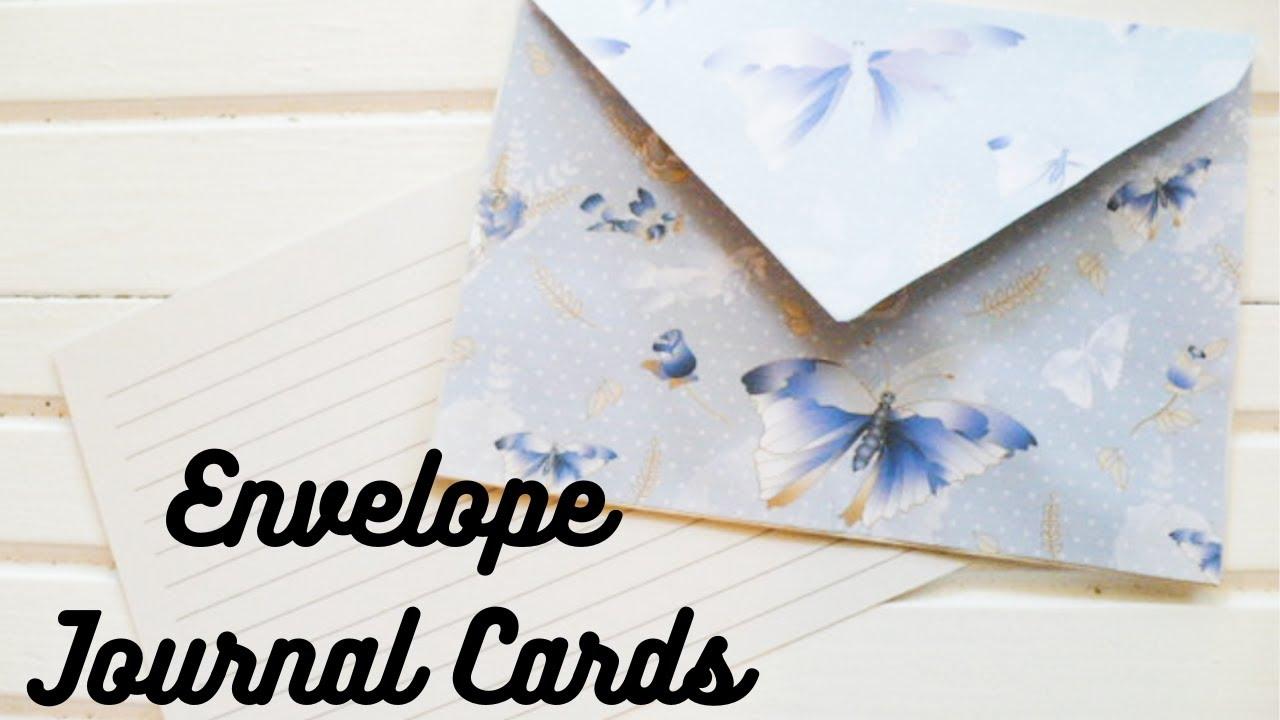 Junk Journal Pockets Altered Recipe Card Tutorial Using Junk Mail Envelopes - Markets Of Sunshine
