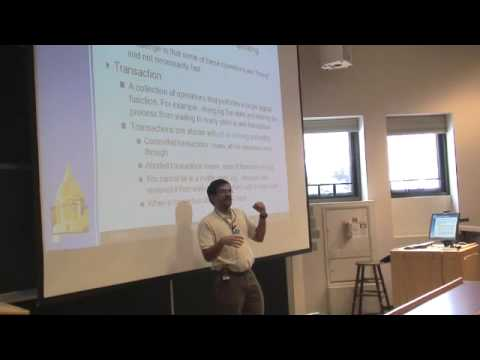 OS-SP08: Lecture 12: Atomic transaction (Chapter 6.9)