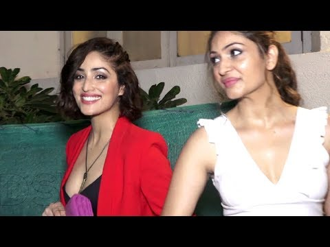 Yami Gautam And Her Hot Sister Surilie Gautam Together At Party