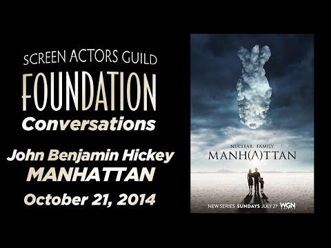 Conversations with John Benjamin Hickey of MANHATTAN