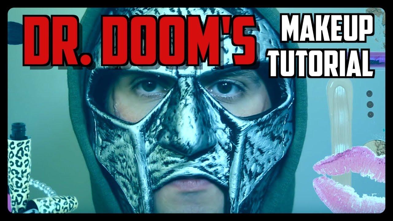 Sketch From Superheroes: Dr. Doom's Makeup Tutorial