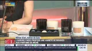 BFM Business : L'Aurore dans Goûts de Luxe Paris le 13.07.15
