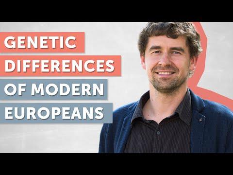 Genetic Differences of Modern Europeans (Archeogenetics) | Johannes Krause