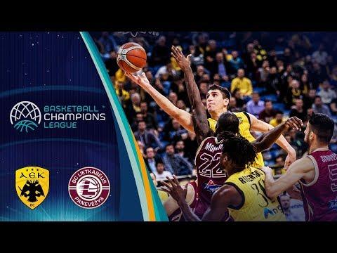AEK v Lietkabelis - Full Game - Basketball Champions League 2018-19