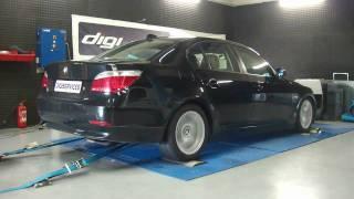 Reprogrammation Moteur BMW E60 530d 218cv @ 275cv dyno Digiservices