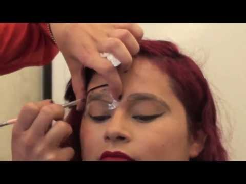 Complete Eyebrow wax, shape, fill in, tweeze CLASS