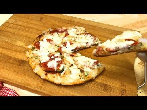 صورة  طريقة عمل البيتزا اسهل واسرع وانجح بيتزا فى العالم بيتزا العشر دقايق  / أكلاتي مع آلاء الجبالي طريقة عمل البيتزا من يوتيوب