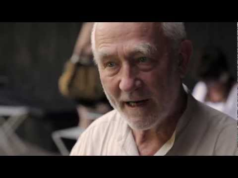 Peter Zumthor interview at Serpentine Gallery Pavilion in London