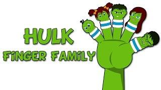 Hulk Finger Family | Finger Family Collection | Finger Family Songs for Children