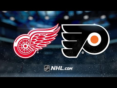 Giroux, Hagg lead Flyers past Red Wings, 4-3