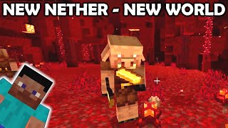 Into the NEW Nether in a NEW World! Minecraft (Bedrock) Nintendo Switch