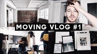 MOVING VLOG #1 - New Apartment Tour, Moving Out + Meet My Parents | Imdrewscott