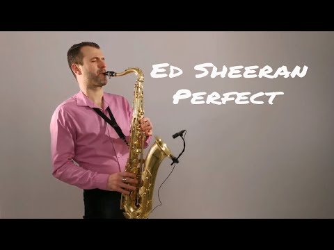 Ed Sheeran - Perfect Saxophone Cover by Juozas Kuraitis