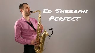 Gambar cover Ed Sheeran - Perfect [Saxophone Cover] by Juozas Kuraitis
