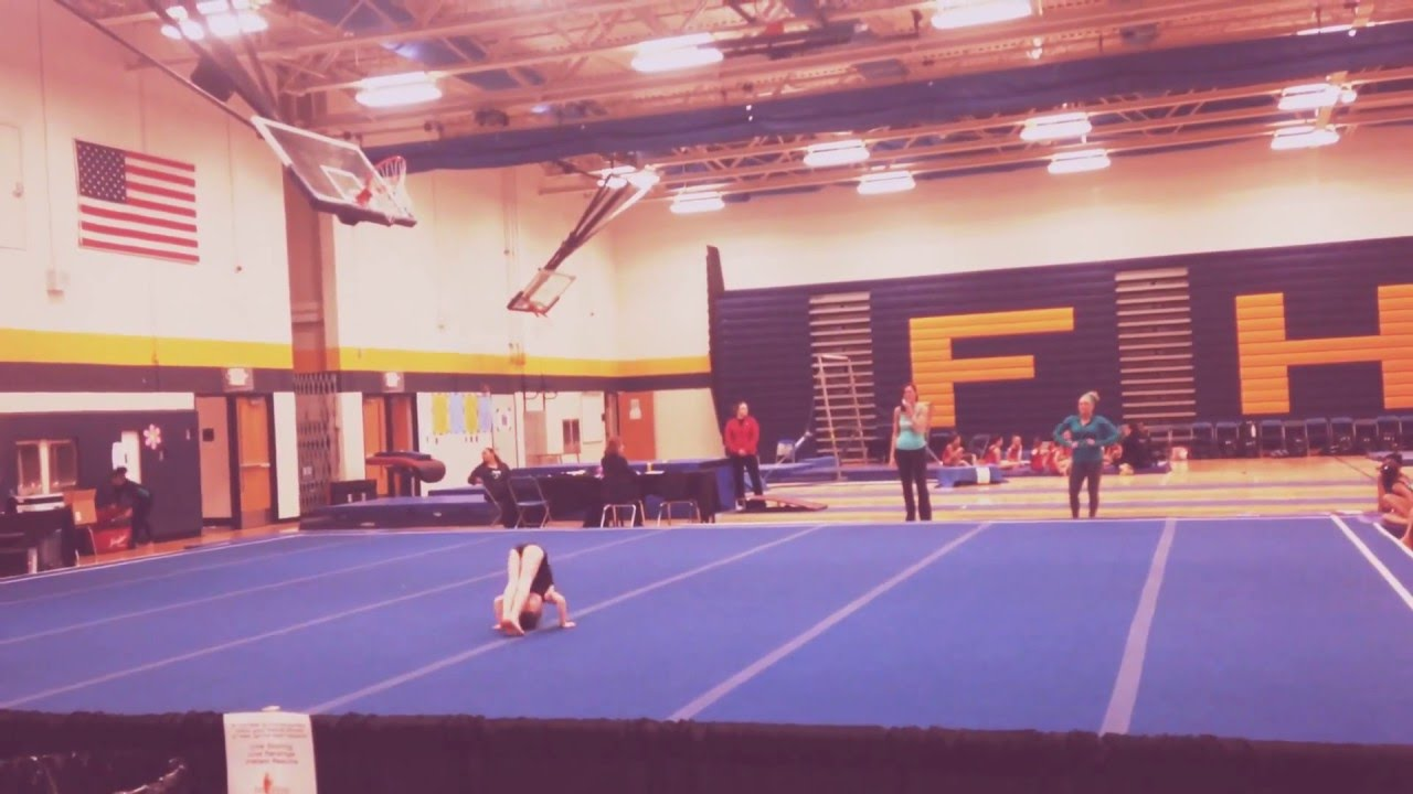 Level 2 Gymnastics Floor Routine