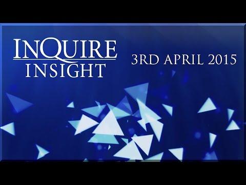 InQuire Insight | 3rd April 2015