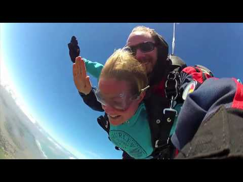 Ellie Fry at Skydive Goolwa