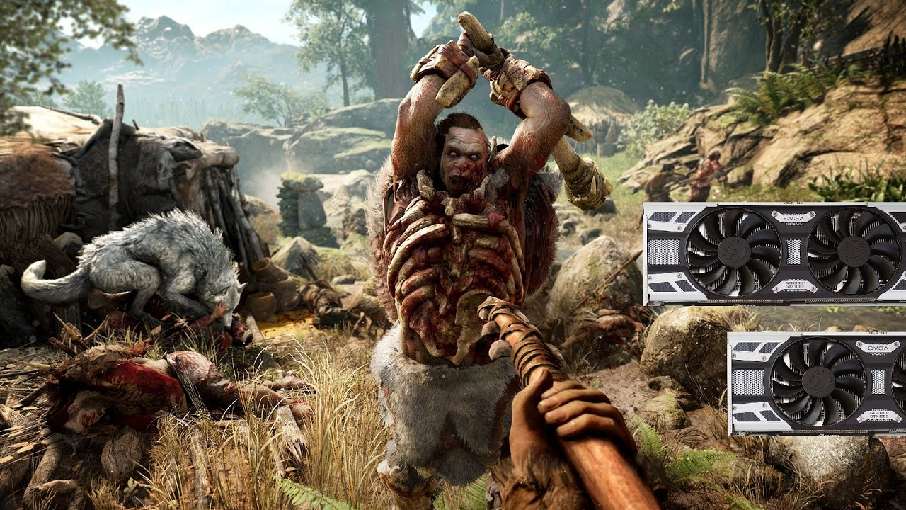 Far Cry Primal HD Texture Pack Gameplay + Benchmarks 1080p