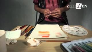 7 Teknik Watercoloring by Zetizen