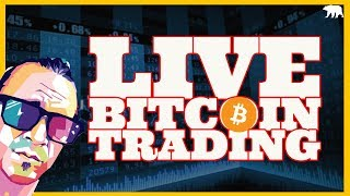 Trading Bitcoin Live! BTC to $8200 (ARCANE BEAR)