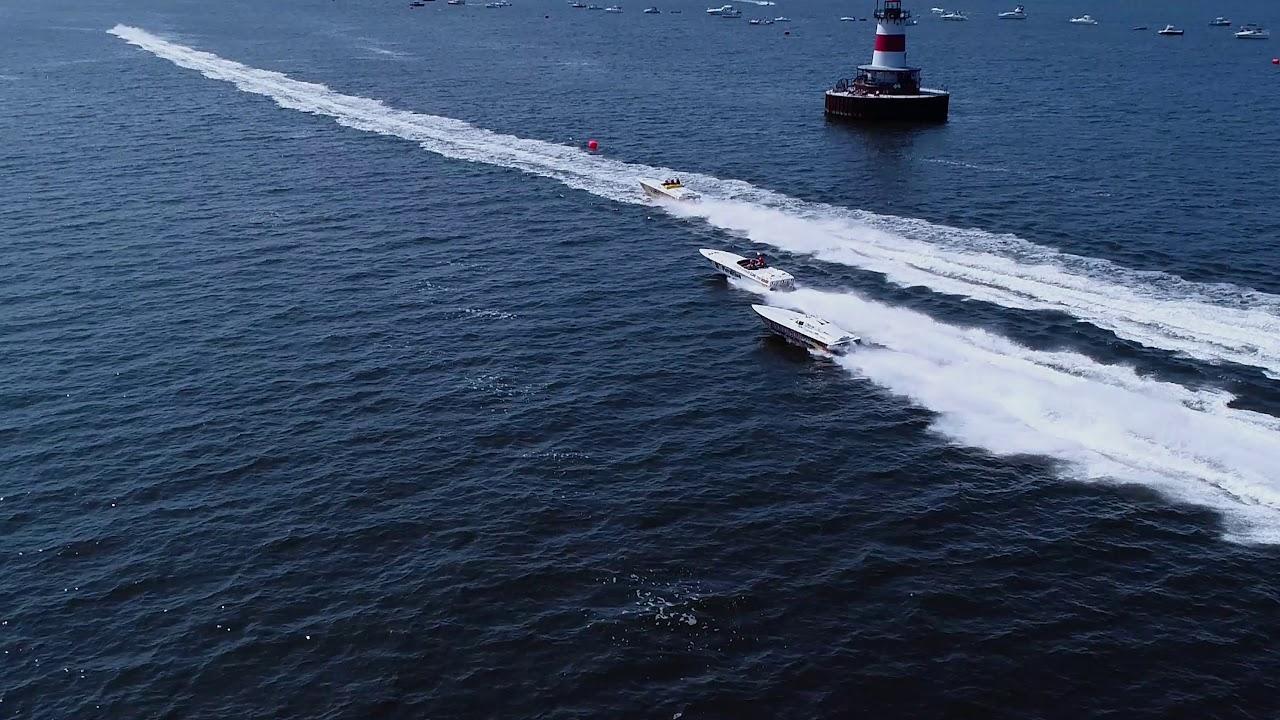 Fall River Grand Prix Offshore Boat races 7