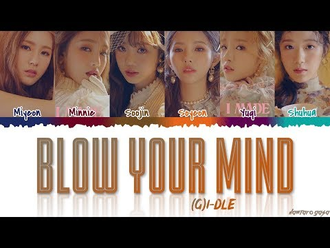 GI-DLE - &39;BLOW YOUR MIND&39;  Color CodedHanRomEng