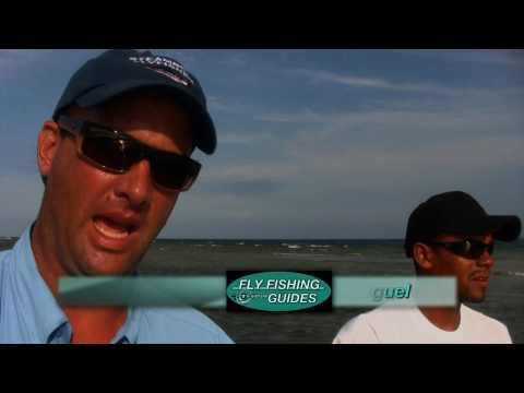Fly Fishing Bonefish Roatan Honduras